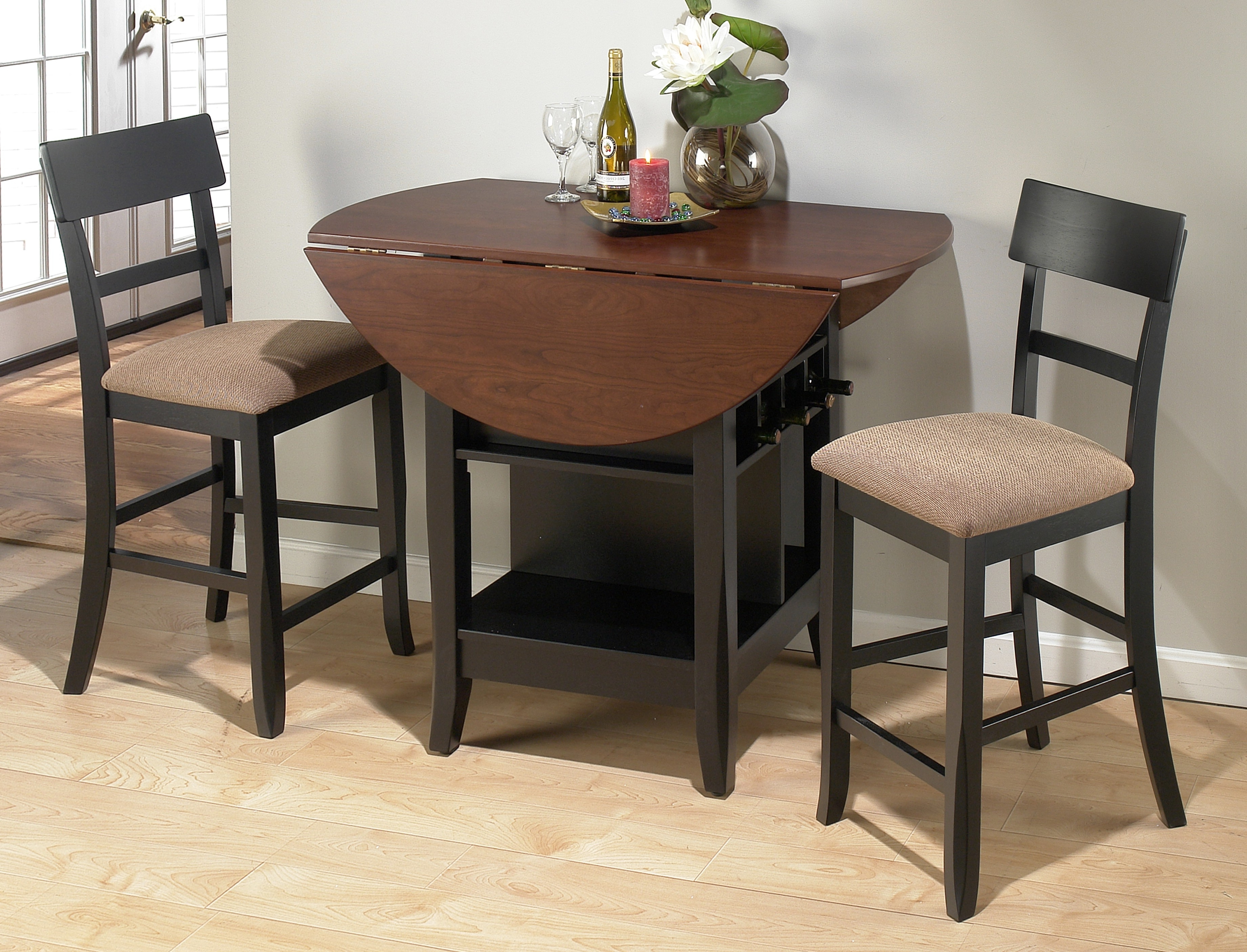 Most Popular Dining Room Kitchen Table Sets For Small Areas Small Dining Table Throughout Compact Dining Tables And Chairs (View 4 of 25)