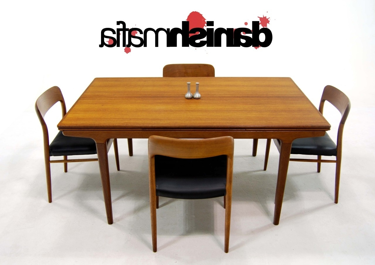 Most Popular Dining Table: Outstanding Dining Room Decoration With Rectangular Throughout Danish Dining Tables (View 17 of 25)