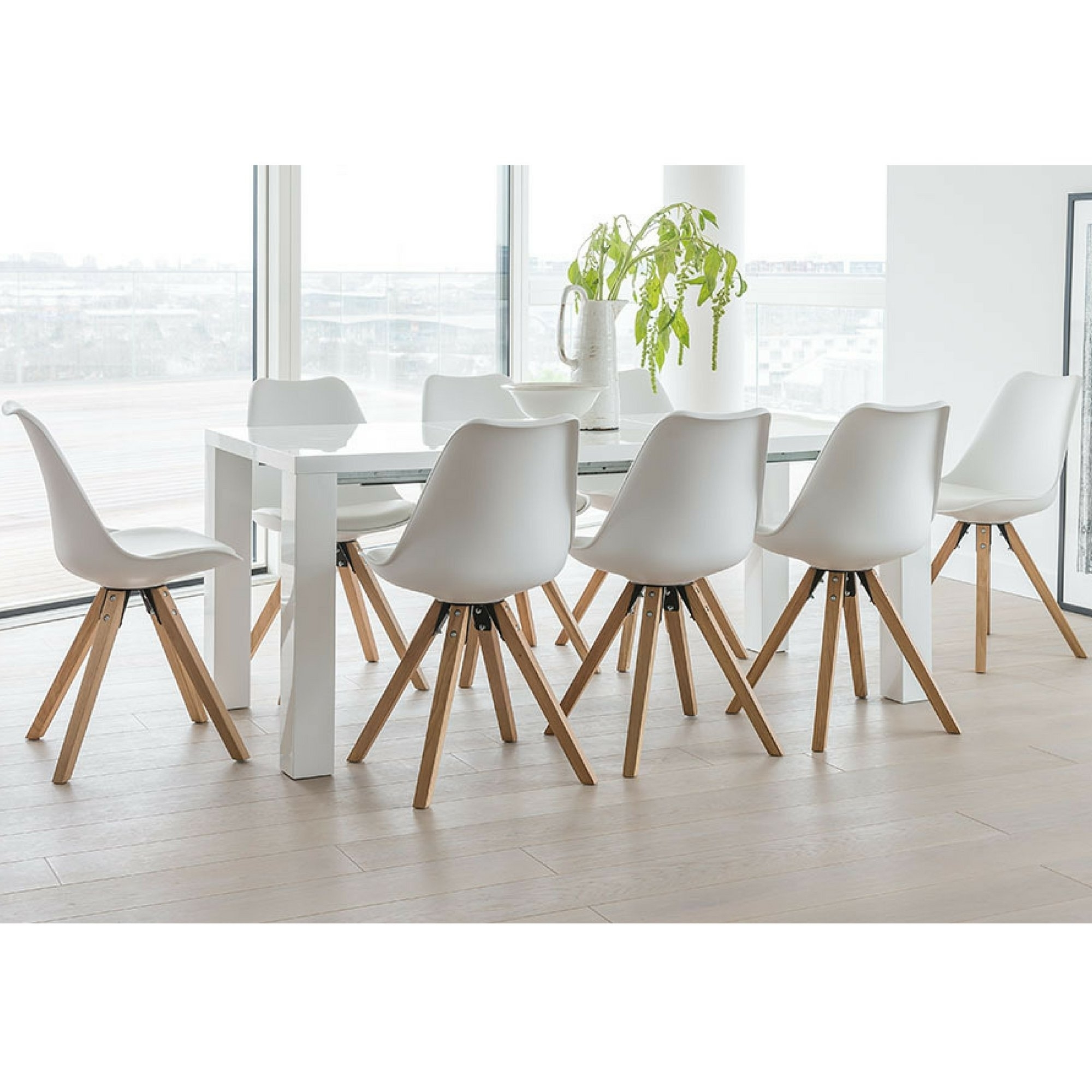 Most Popular Dining Tables And 8 Chairs With Regard To Norden Home Billie Extendable Dining Set With 8 Chairs (View 21 of 25)