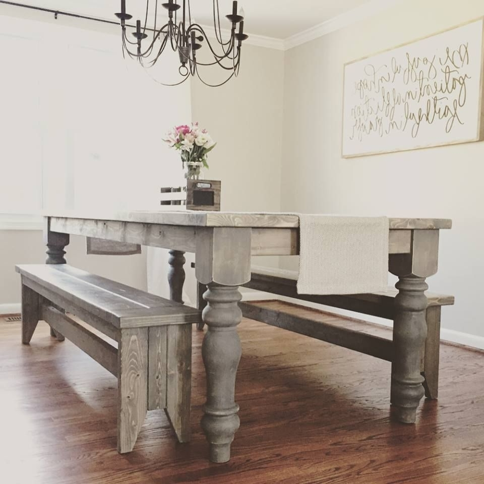 Featured Photo of Dining Tables With Large Legs