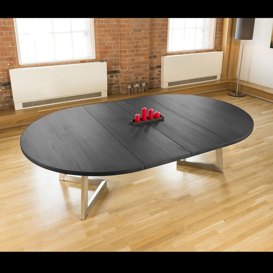 Most Popular Extending Round Dining Tables Inside Massive 1.8 –  (View 18 of 25)