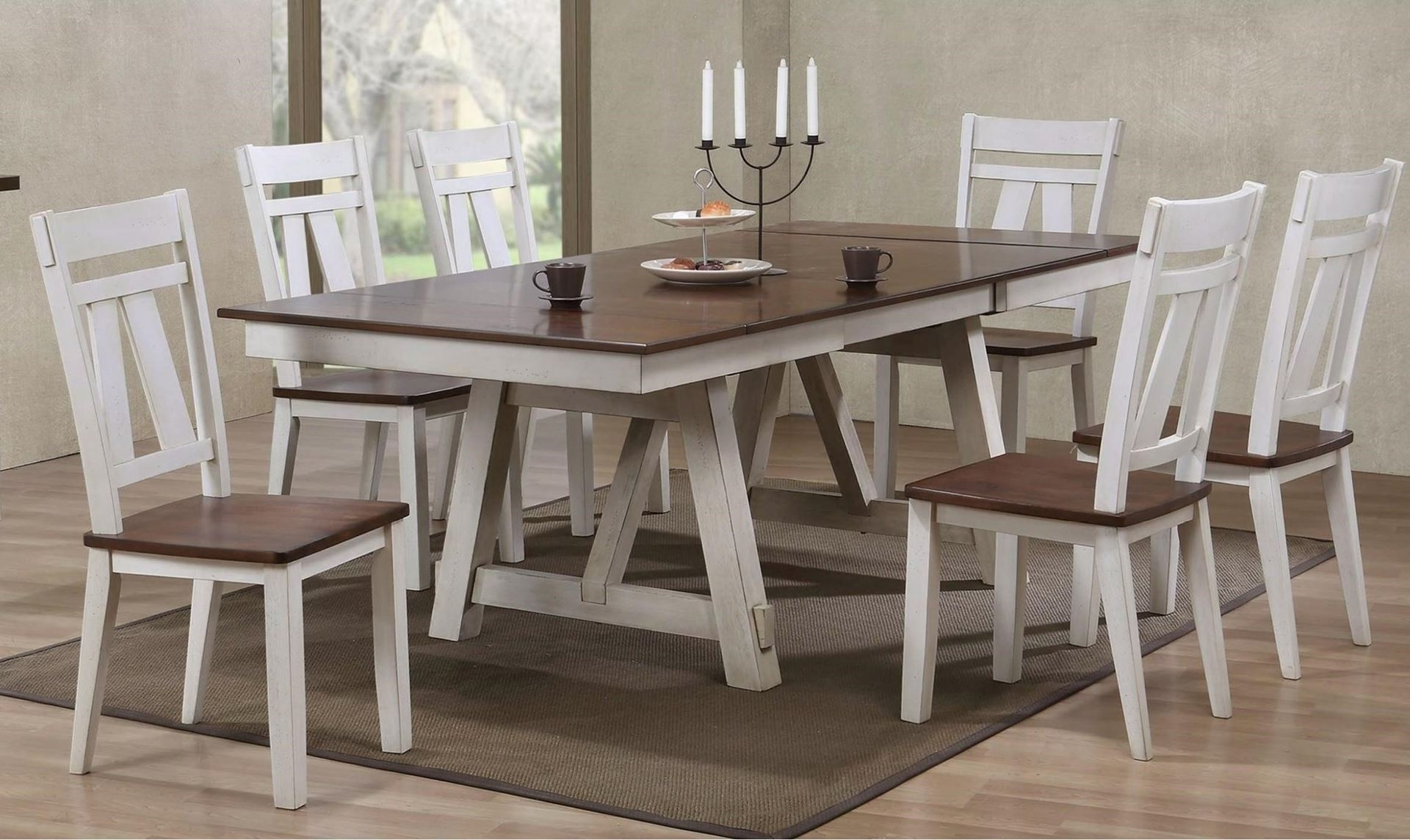 Most Popular Farm Dining Tables With Regard To  (View 9 of 25)