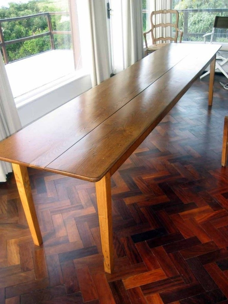 Most Popular For Sale: Rare French Dining Table (Long, Narrow, Curiously Modern Inside Long Dining Tables (View 21 of 25)