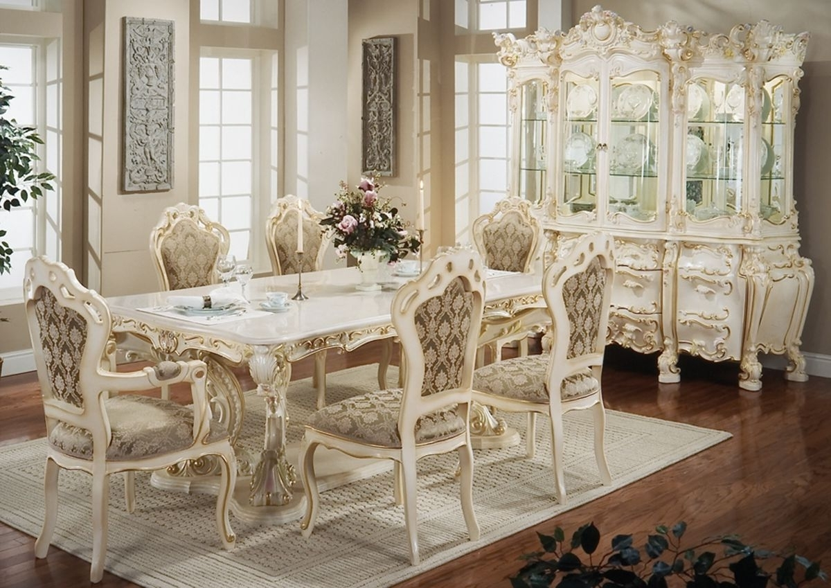 Most Popular French Chic Dining Tables For French Furniture Art – French Furniture Is A Trend To Decorate Your (View 18 of 25)