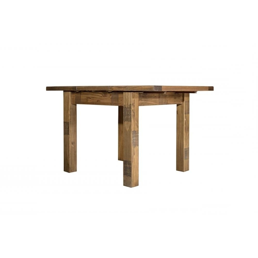Most Popular Homebrands Cotswold Rustic Extending Dining Table Inside Cotswold Dining Tables (View 11 of 25)