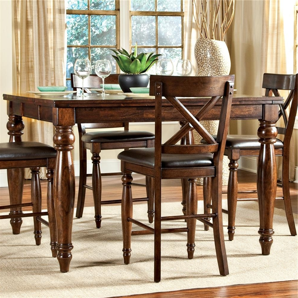 Most Popular Intercon Kingston Counter Height Gathering Table With Butterfly Leaf For Kingston Dining Tables And Chairs (View 2 of 25)