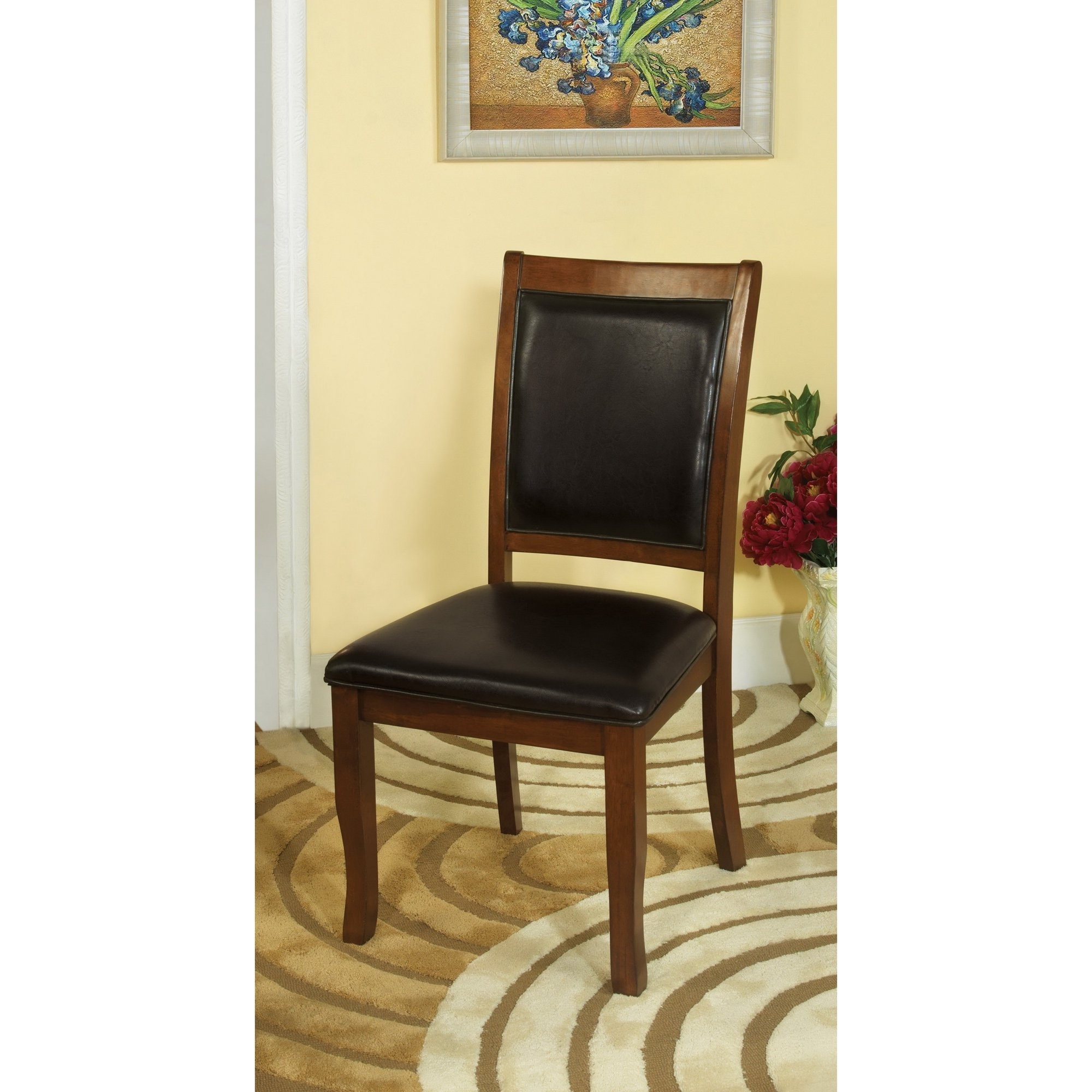 Most Popular Kirsten 5 Piece Dining Sets With Shop Furniture Of America Kristen 5 Piece Brown Cherry Dining Set (View 7 of 25)