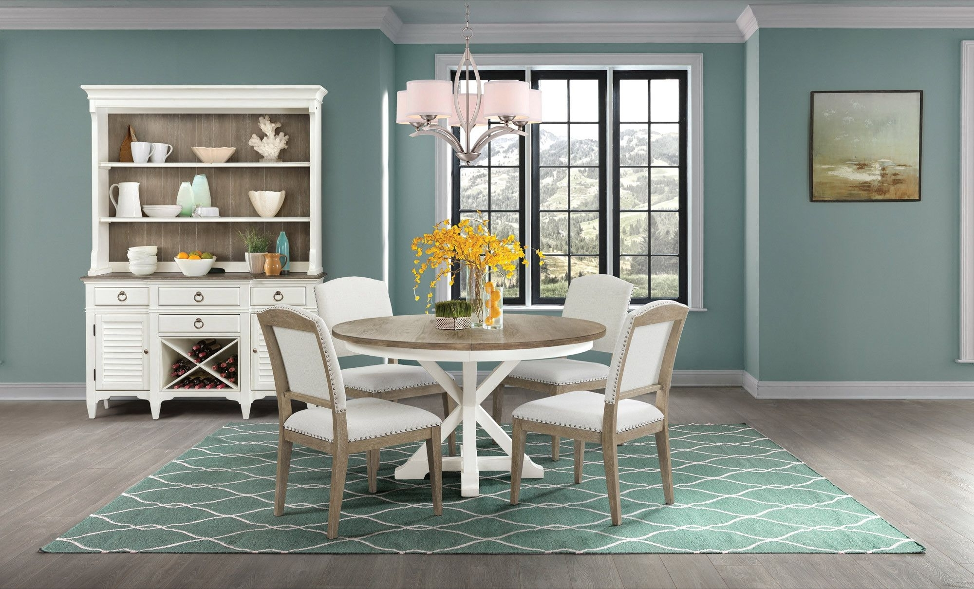Most Popular Myra Round Dining Table Set (View 16 of 25)