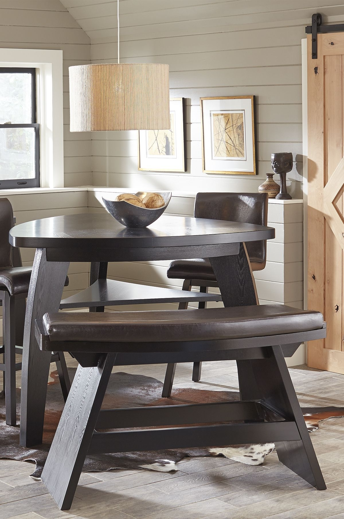 Most Popular Noah Dining Tables With Regard To Noah Chocolate 4 Pc Bar Height Dining Room (View 12 of 25)