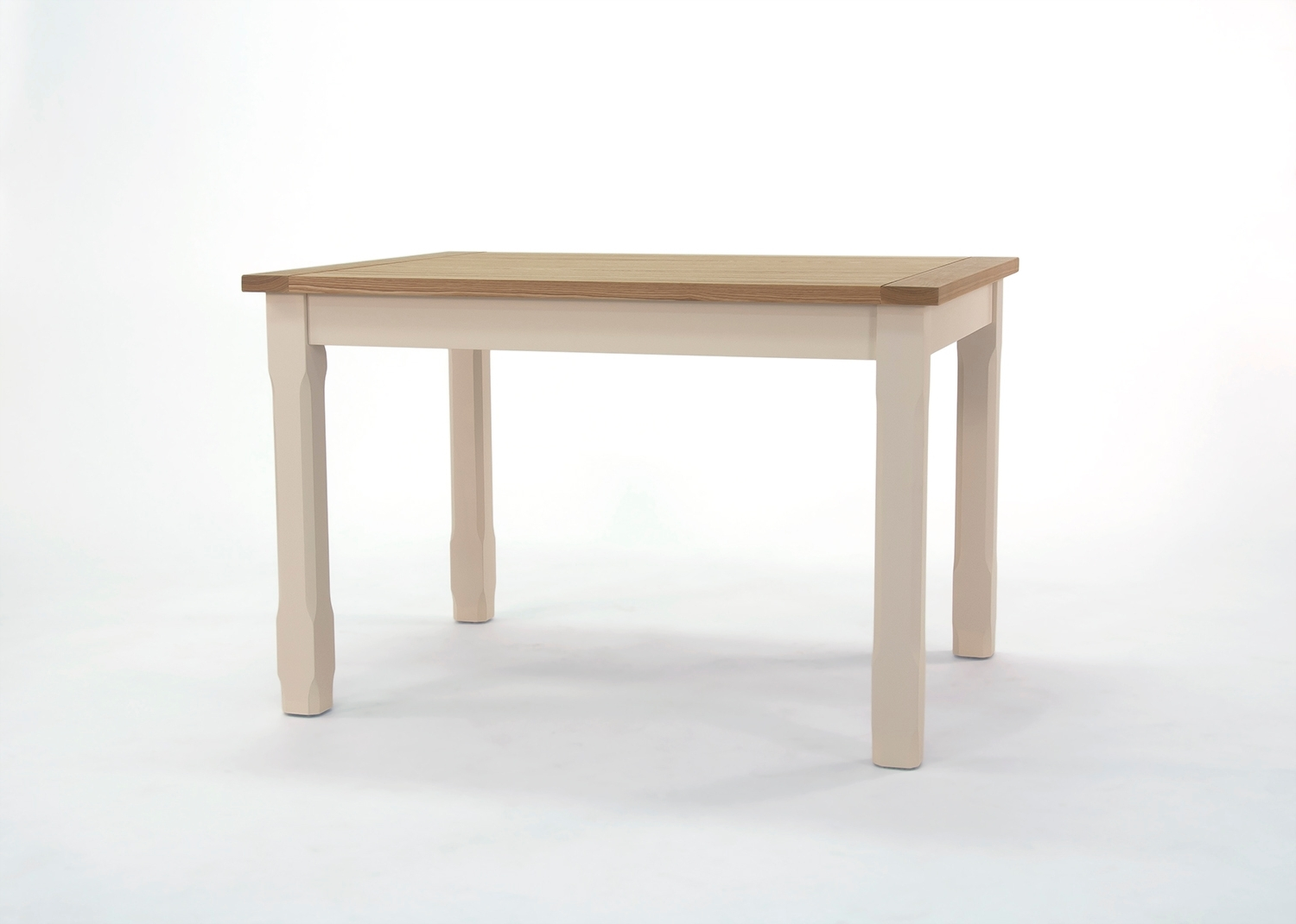 Most Popular Painted Pine And Ash Dinning Table Mg104 « Love Ones Home With Ivory Painted Dining Tables (View 14 of 25)