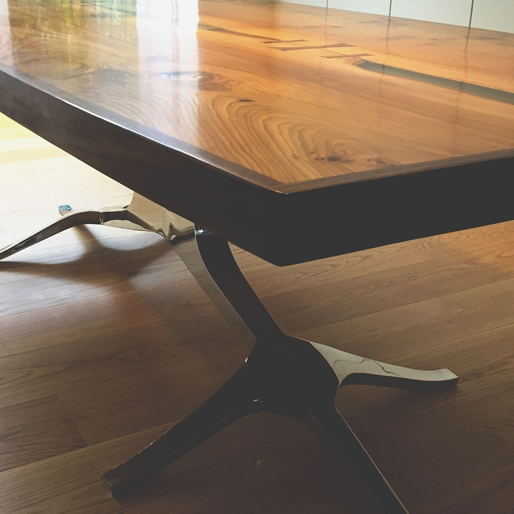 Most Popular Phoenix Dining Tables Pertaining To River Phoenix Dining Table – Neil Scott Furniture (View 12 of 25)