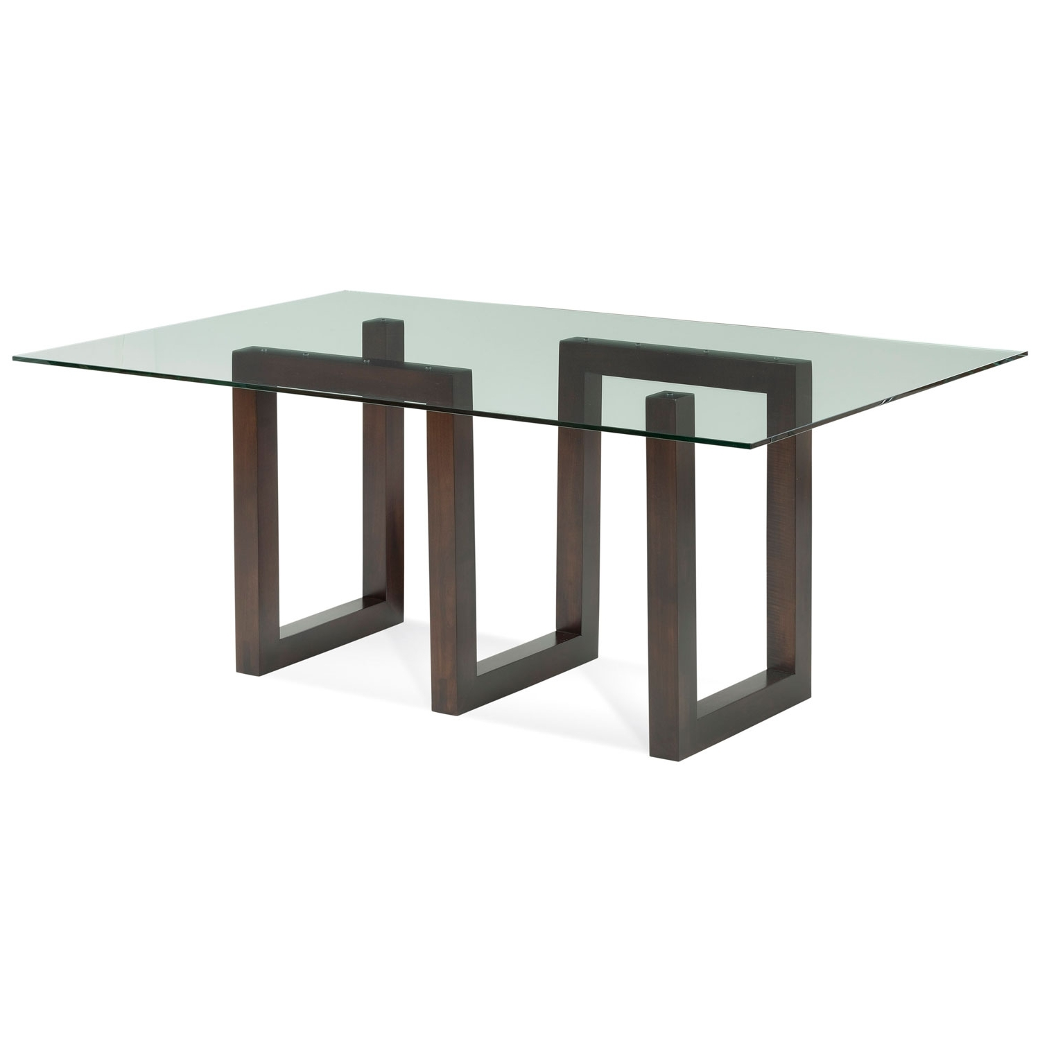 Most Popular Saloom Furniture Serpent Java Glass Top Dining Table Gcfs 4472 Ser For Java Dining Tables (Gallery 24 of 25)