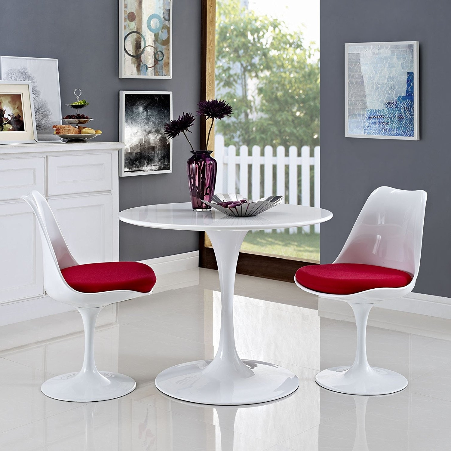 Most Popular Small Round White Dining Tables In Twenty Dining Tables That Work Great In Small Spaces – Living In A (View 11 of 25)