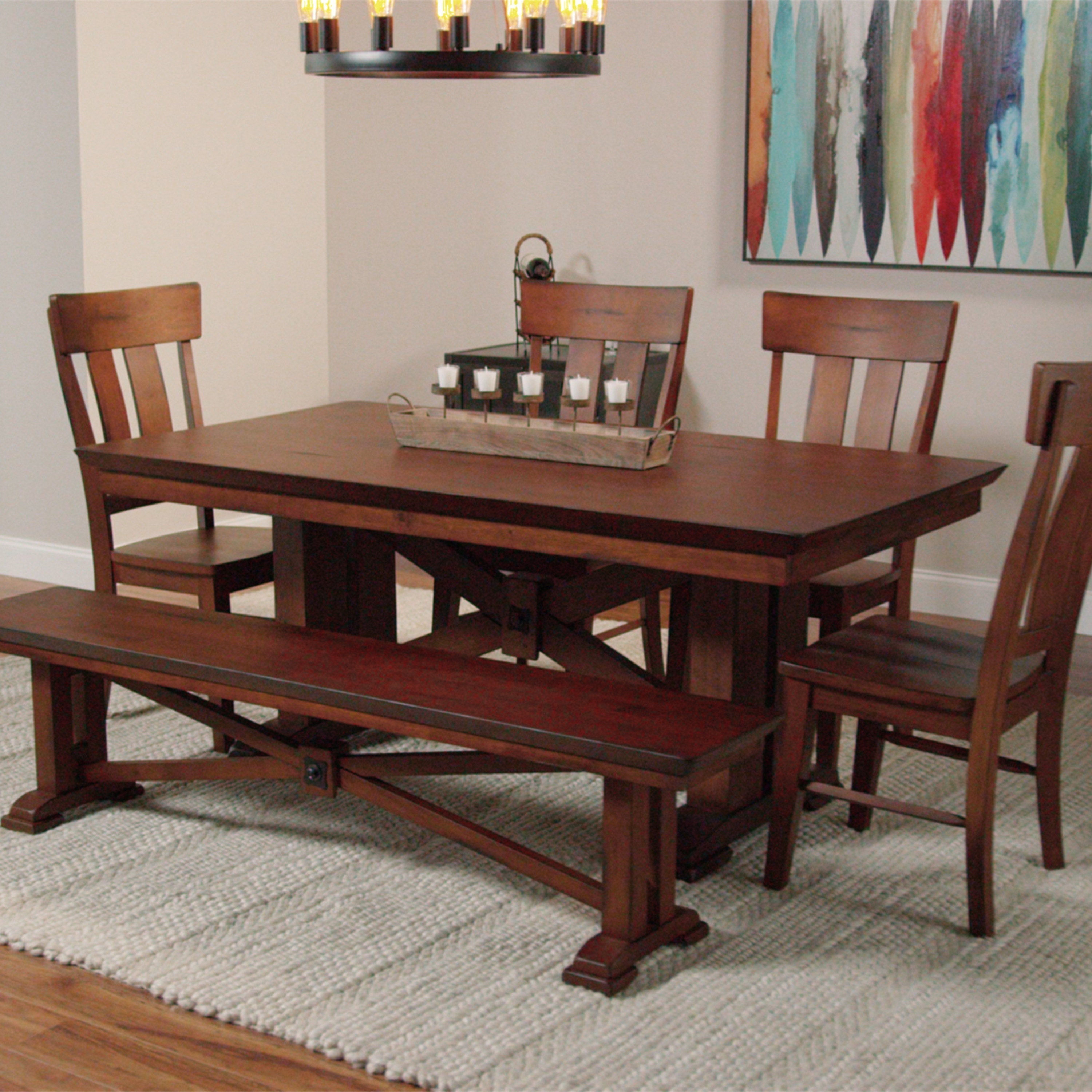 Most Popular The Custom World Market Dining Table For  (View 16 of 25)