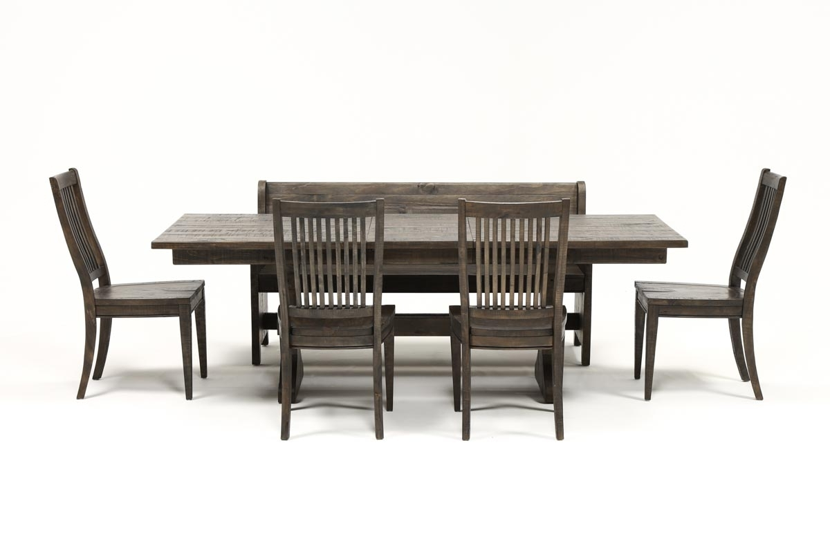 Most Popular Valencia 72 Inch 6 Piece Dining Set (View 2 of 25)