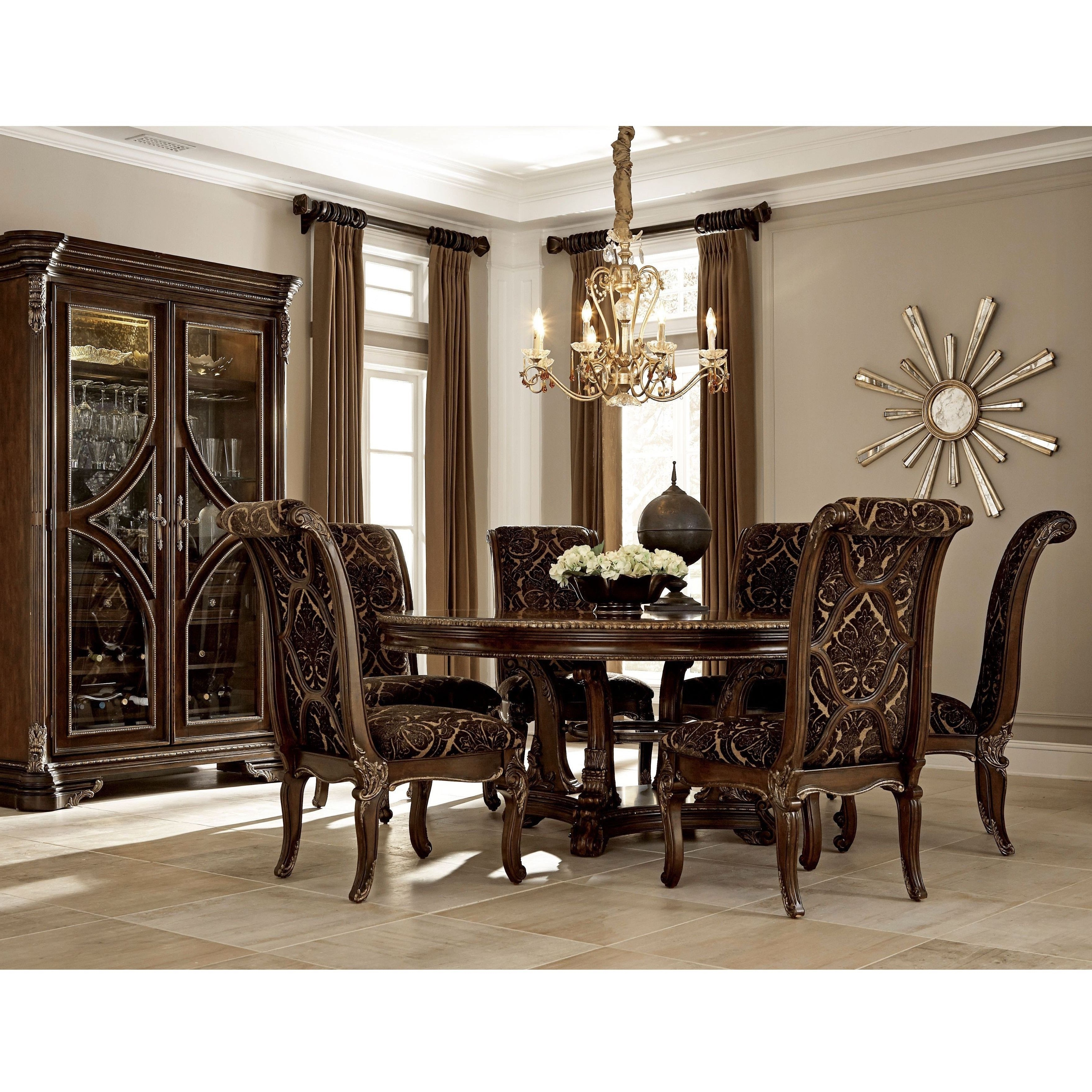 Most Popular Valencia 72 Inch 7 Piece Dining Sets Pertaining To A.r.t (View 11 of 25)