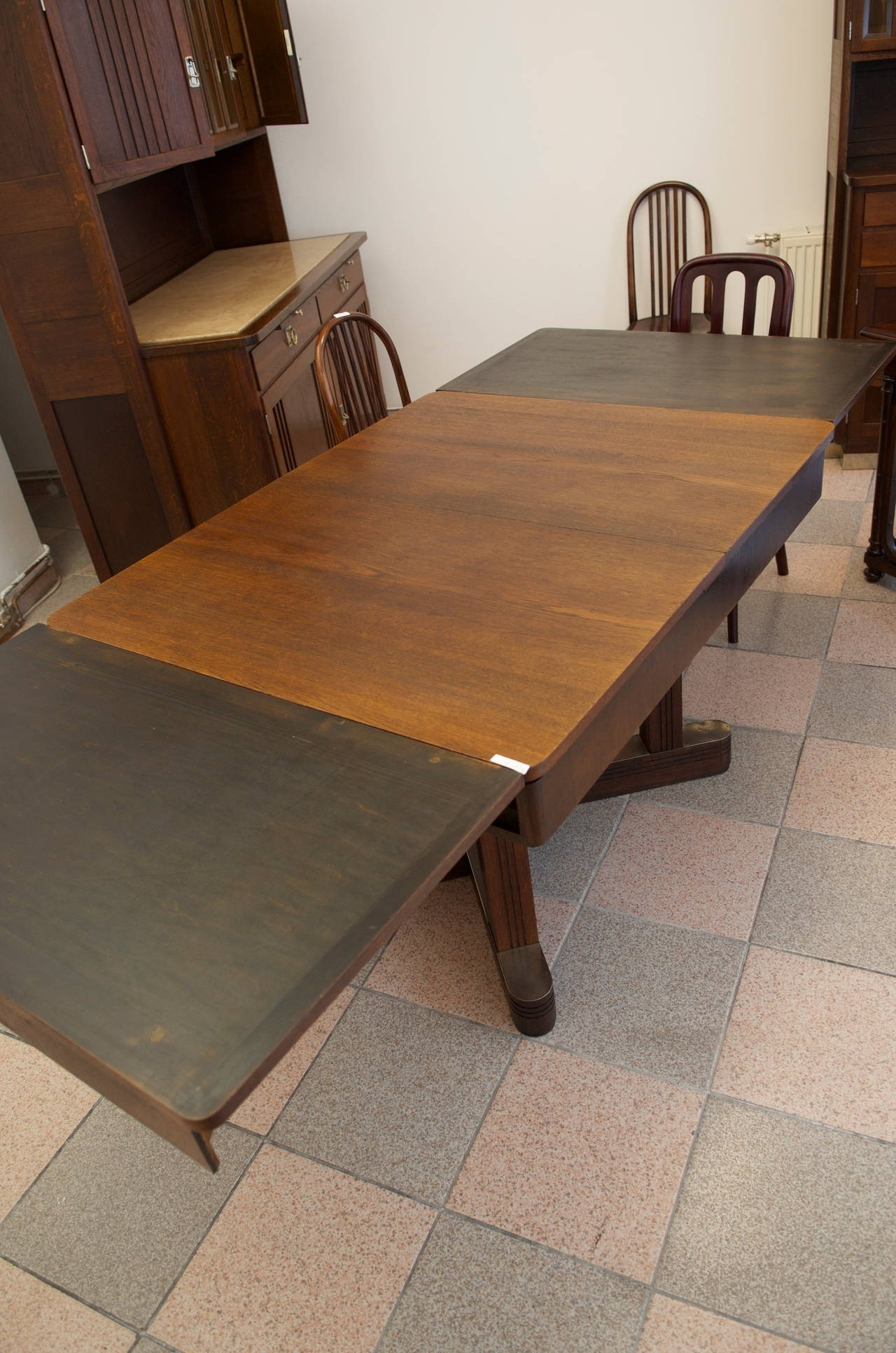 Most Popular Vienna Dining Tables Inside Vienna Secession Dining Table Attributed To Otto Wyrlik At 1Stdibs (View 11 of 25)