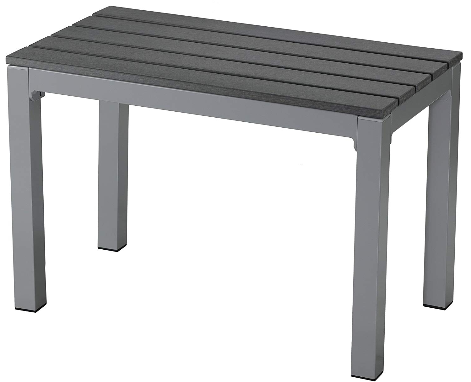 Most Recent Amazon : Cortesi Home Jaxon Aluminum Outdoor Picnic Bench For Jaxon 6 Piece Rectangle Dining Sets With Bench & Uph Chairs (View 17 of 25)