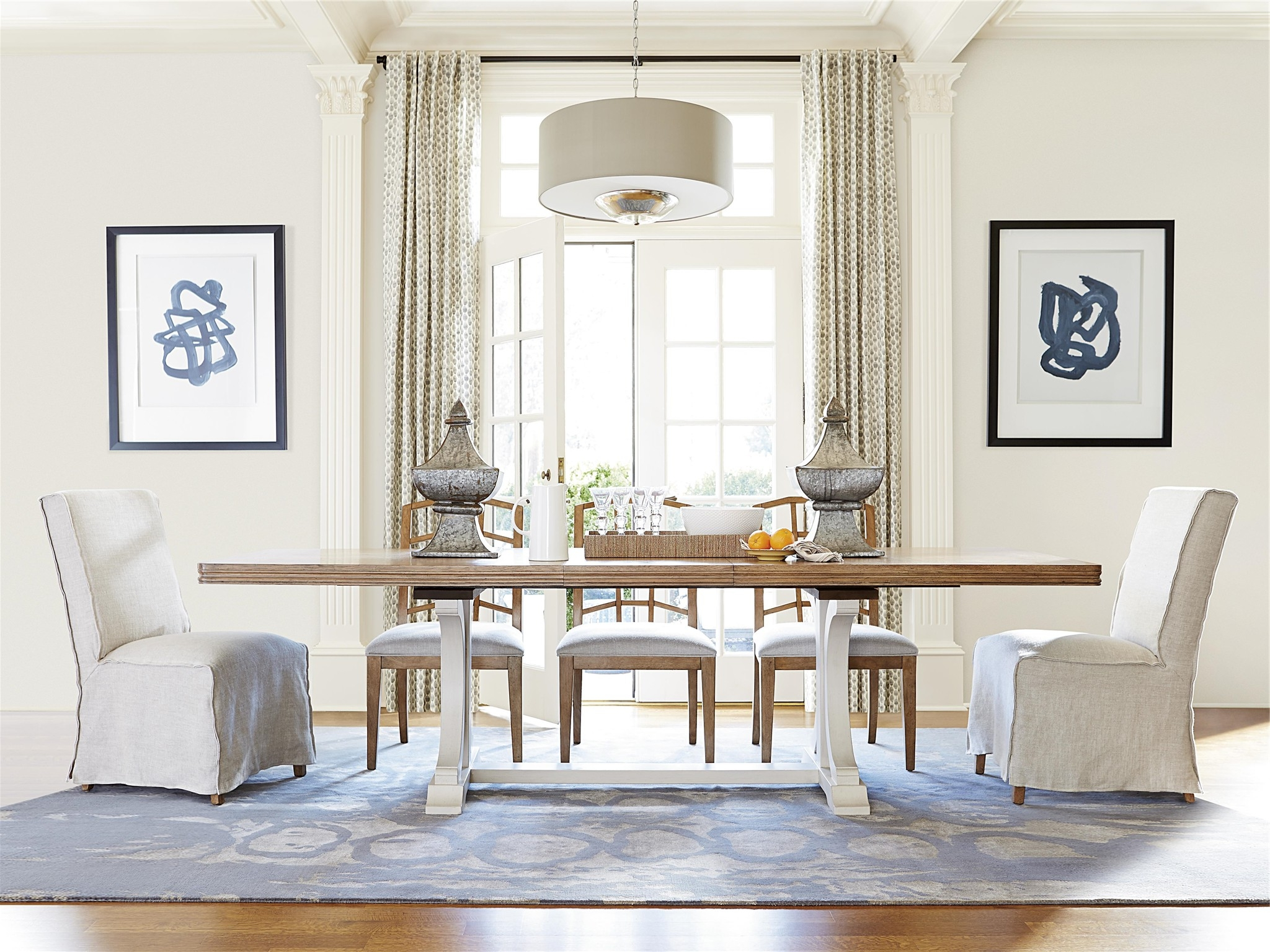 Most Recent Bahamas Dining Table Lovely Universal Furniture Moderne Muse Dining With Universal Dining Tables (View 11 of 25)