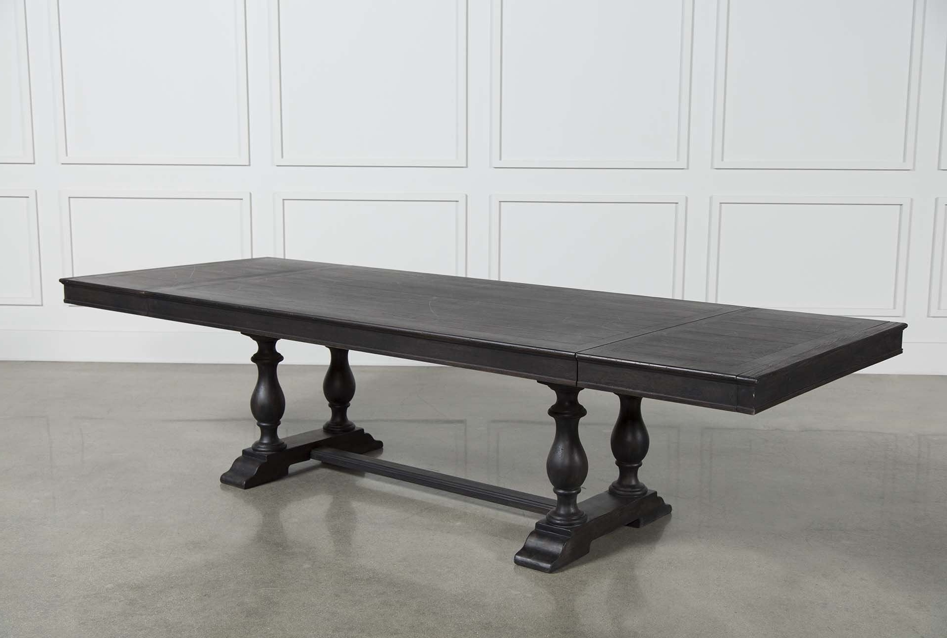 Most Recent Chapleau Extension Dining Table – Back (View 9 of 25)