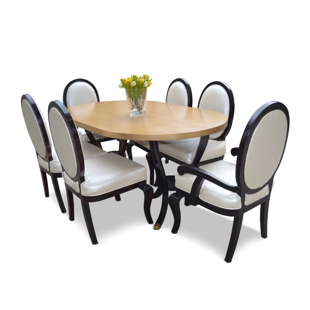 Most Recent Cheap 6 Seater Dining Tables And Chairs For Rochester 6 Seater Dining Table Set – Dining Tables & Sets – Dining (View 19 of 25)