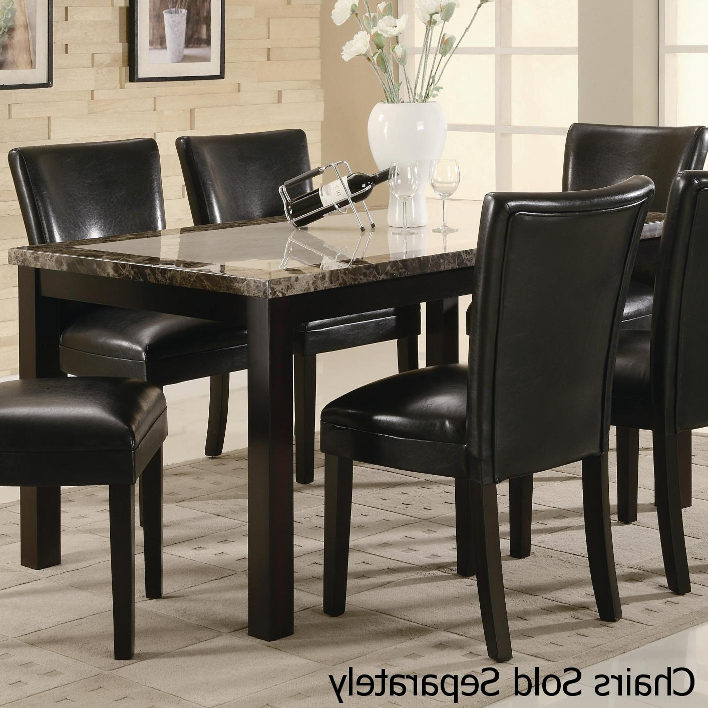 Most Recent Dark Brown Wood Dining Tables Intended For Brown Wood Dining Table – Steal A Sofa Furniture Outlet Los Angeles Ca (View 19 of 25)