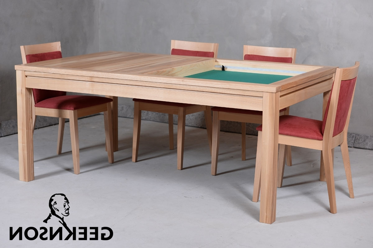 Most Recent Denis Gaming And Dining Table – Geeknson Throughout Dining Tables With Led Lights (View 19 of 25)