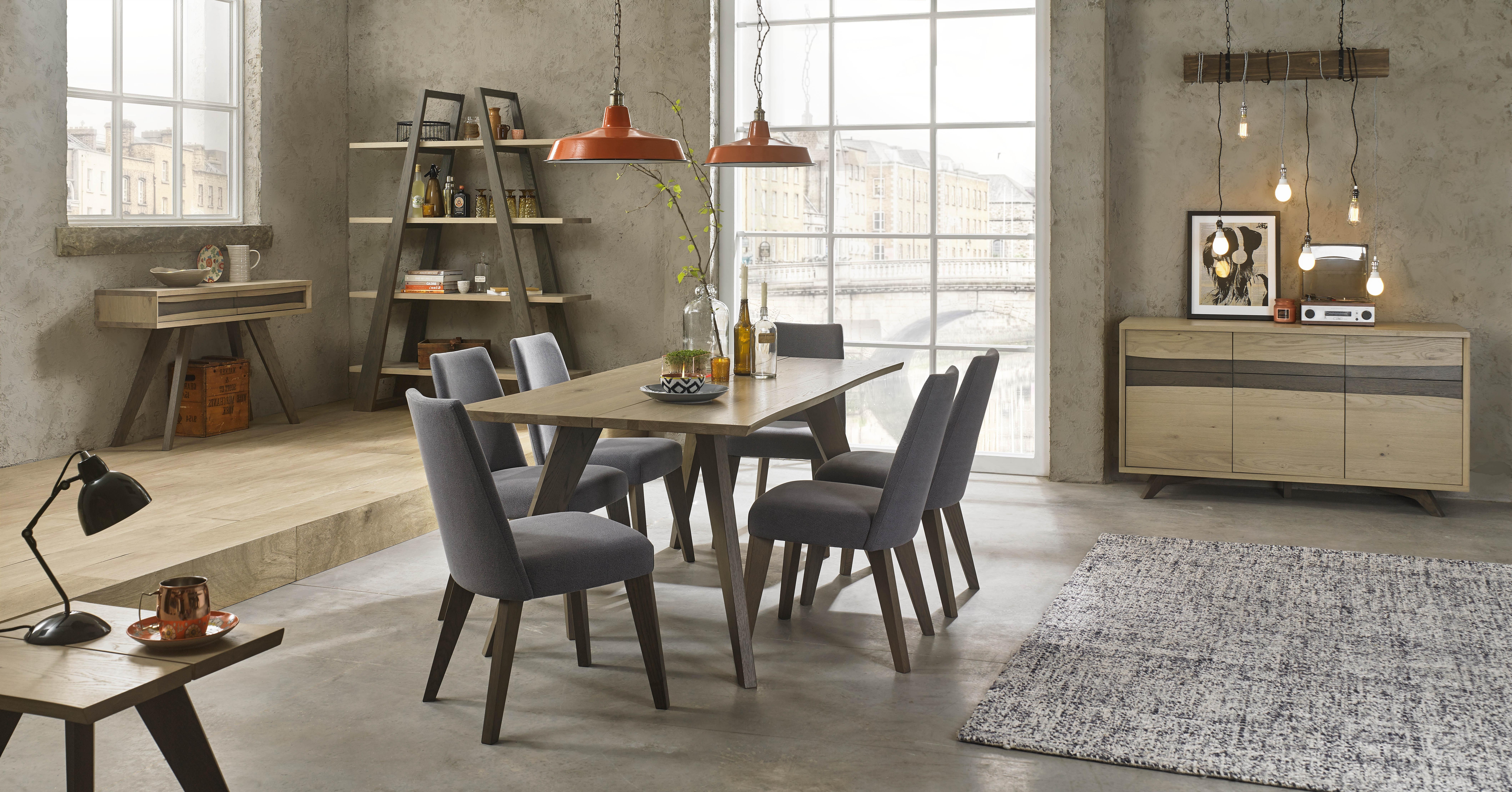 Most Recent Dining Room – Area With Product Type: Dining Tables For Oak Dining Tables And Leather Chairs (View 8 of 25)