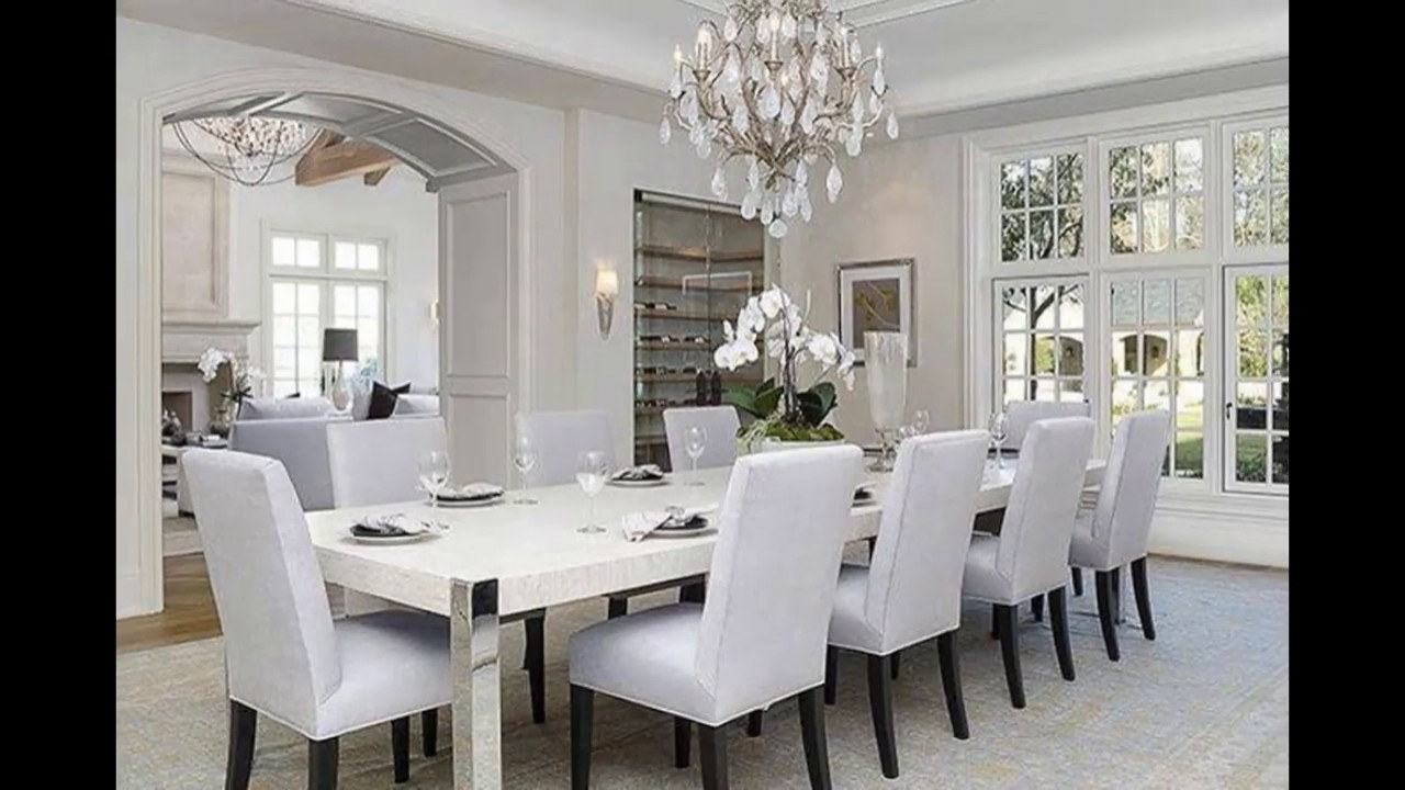 Most Recent Dining Room Tables Throughout Dining Table Decoration Ideas 2017 – Youtube (View 3 of 25)