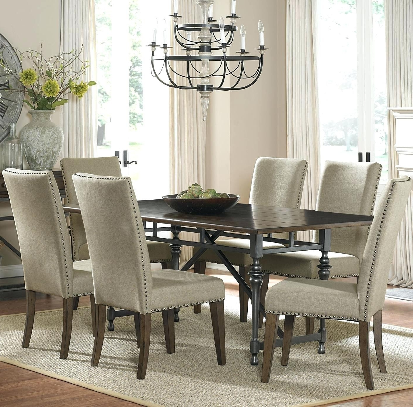Most Recent Discount Dining Room Chairs Luxury Upholstered Dining Room Chairs Inside Fabric Dining Room Chairs (View 3 of 25)