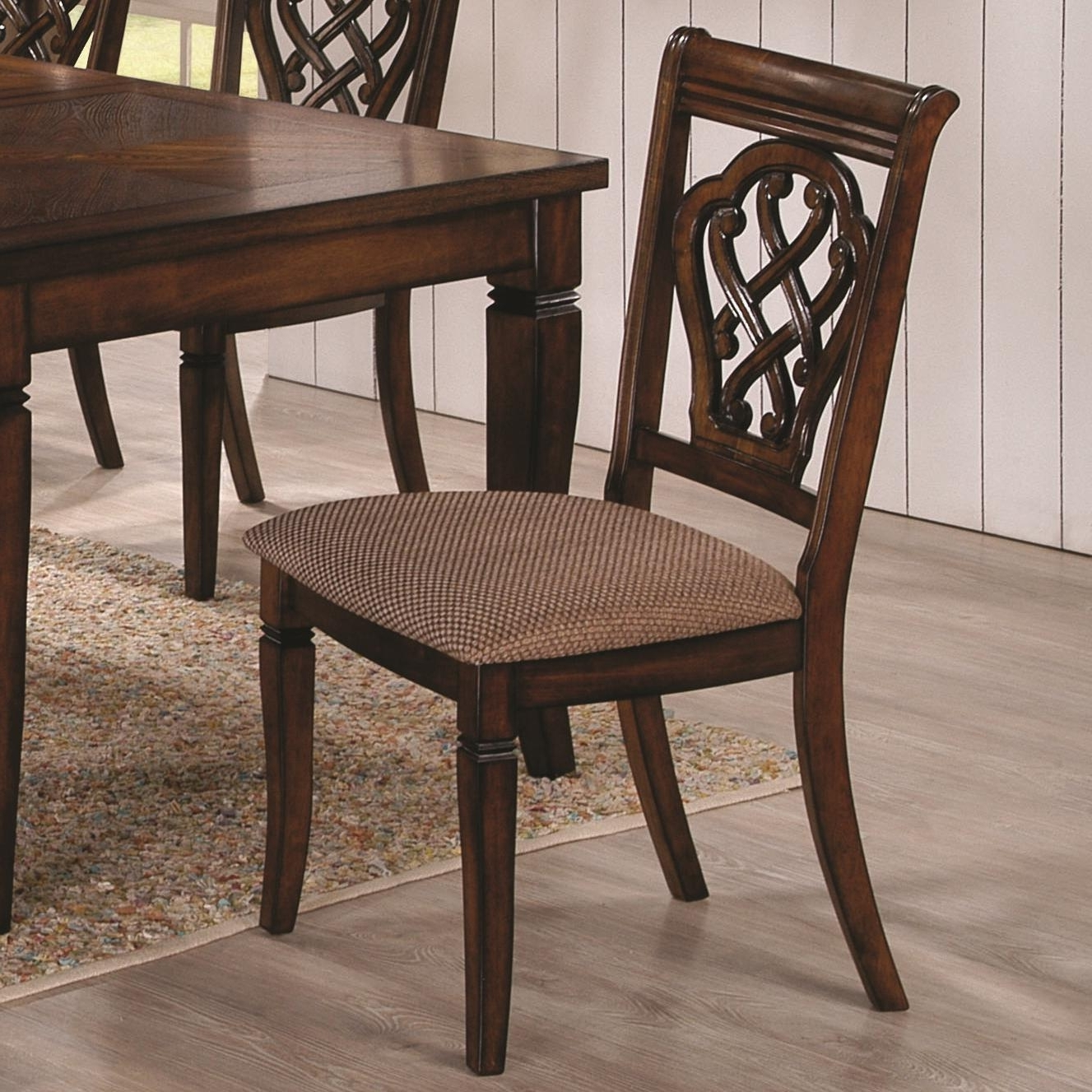 Most Recent Hayden Dining Tables With Regard To 2 Coaster Furniture Hayden Brown Dining Chairs (View 16 of 25)
