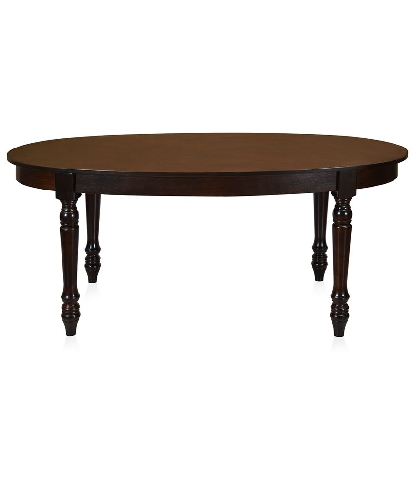 Most Recent Homenilkamal Isabella Solid Wood Dining Table – Buy @home Pertaining To Isabella Dining Tables (View 20 of 25)