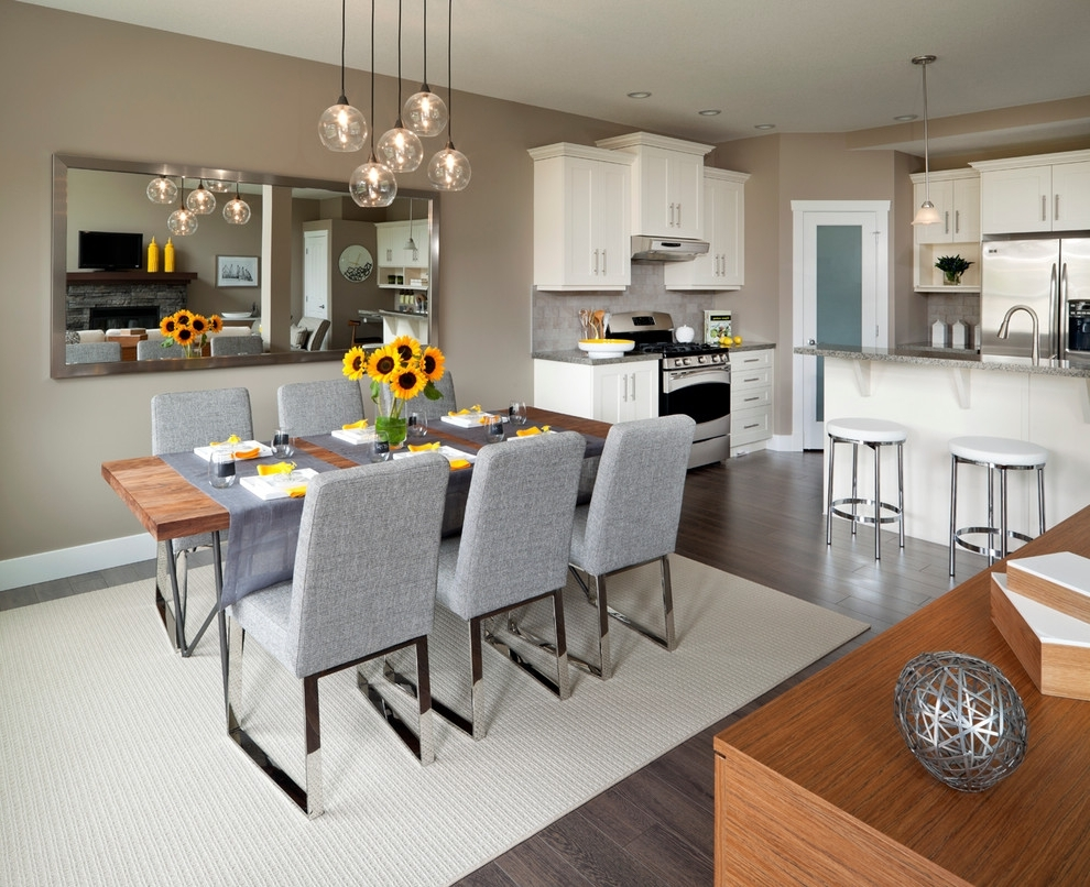 Most Recent Image 9056 From Post: Kitchen Table Lighting – With Contemporary For Dining Tables Ceiling Lights (View 19 of 25)