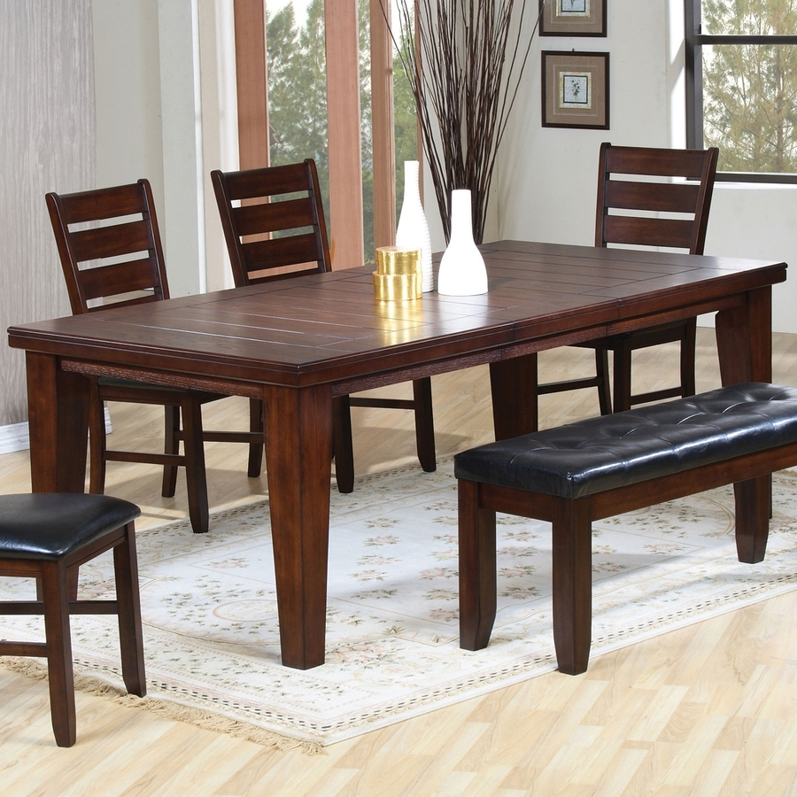 Most Recent Imperial Dining Tables In Shop Coaster Fine Furniture Imperial Extending Dining Table At Lowes (View 2 of 25)