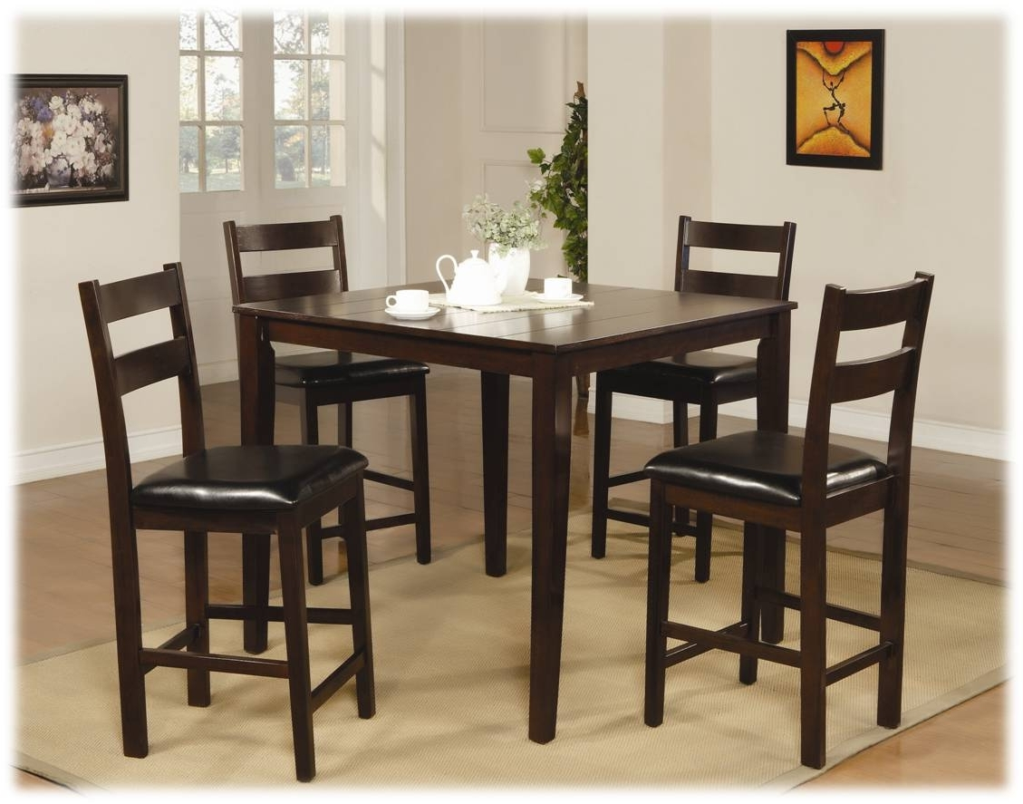Most Recent Kitchen: Amusing Big Lots Kitchen Chairs Big Lots Bar Set, Kmart Within Dark Wood Square Dining Tables (Gallery 16 of 25)