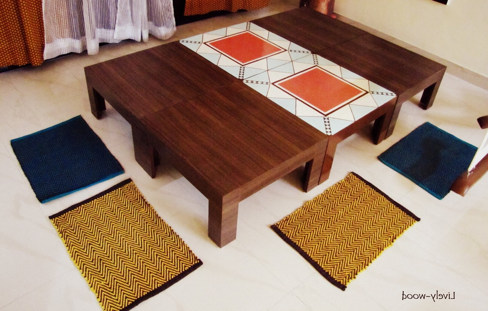 Most Recent Lively Wood: Home Of Eternal Triangles Within Indian Style Dining Tables (View 3 of 25)
