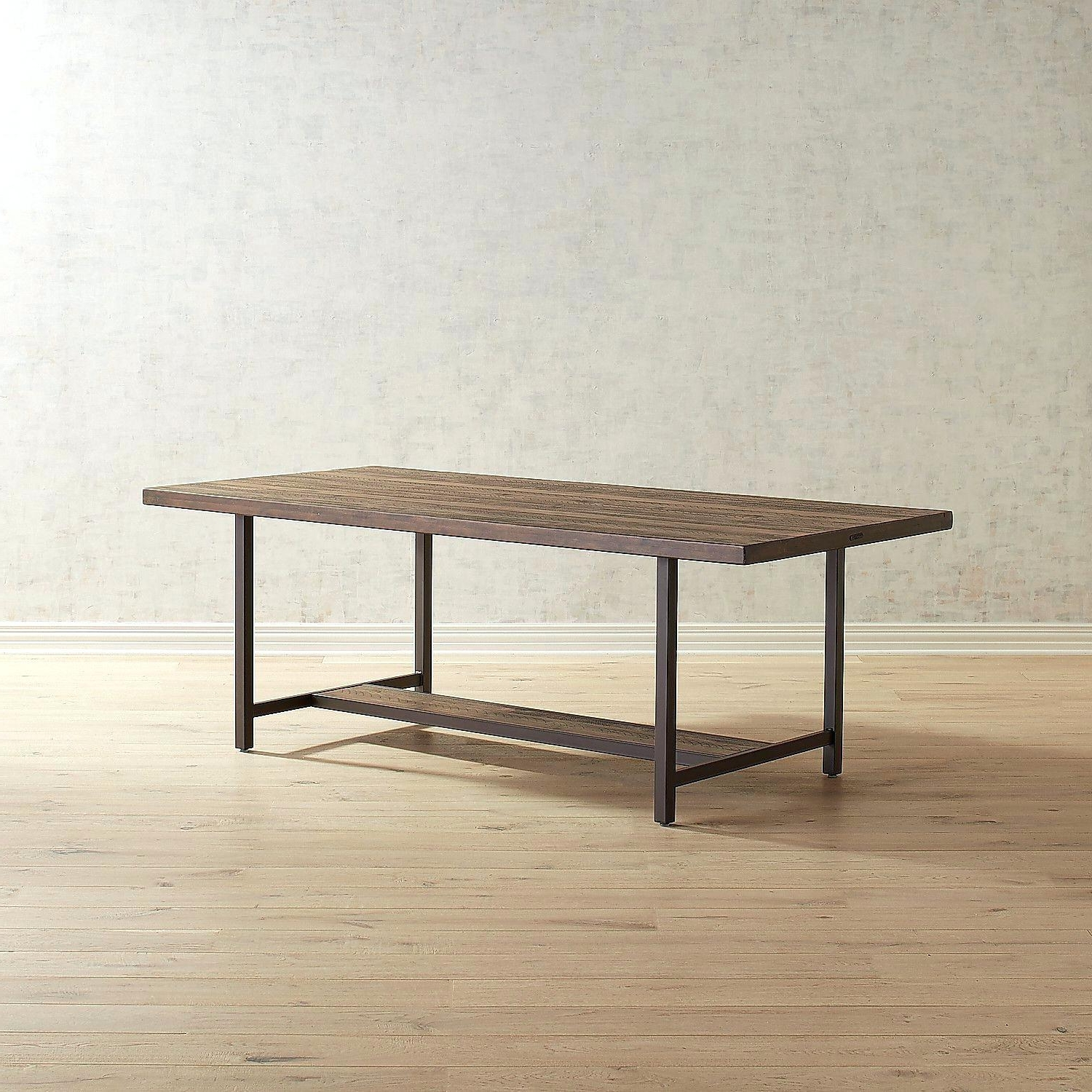 Most Recent Magnolia Home Dining Table Industrial – Battenhall Throughout Magnolia Home Sawbuck Dining Tables (View 21 of 25)