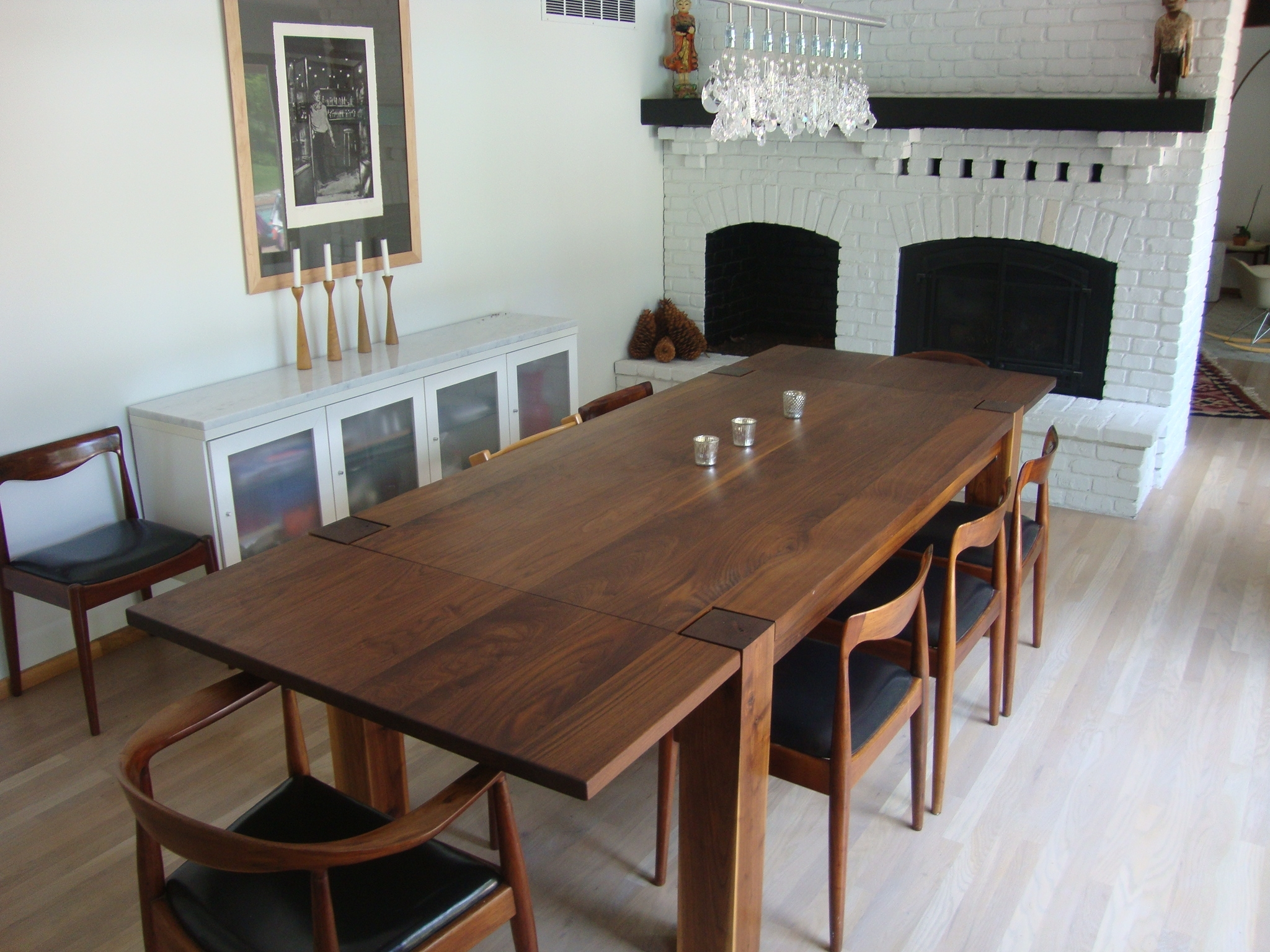 Most Recent Magnus Table – 10′ Long Solid Black Walnut Dining Table Regarding Walnut Dining Tables (View 22 of 25)