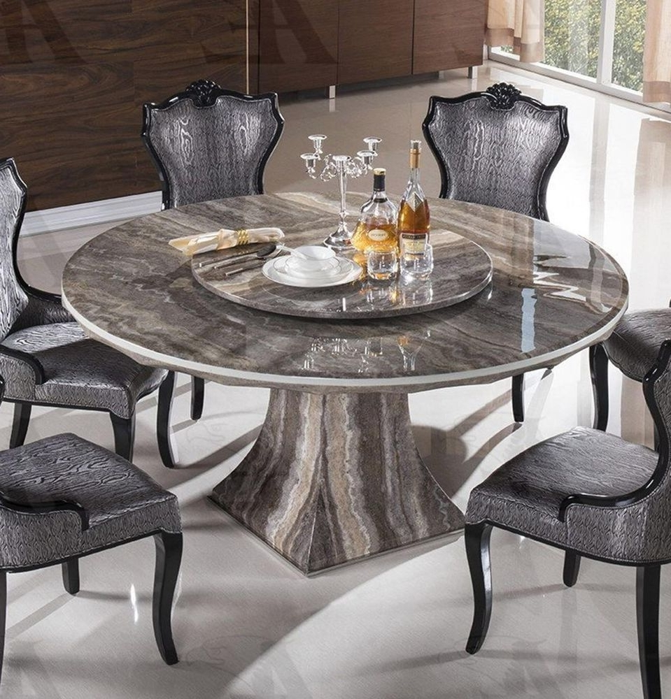 Most Recent Marble Dining Chairs Intended For Dining Room Excellent Round Marble Dining Table For 6 Cool Dining (View 5 of 25)