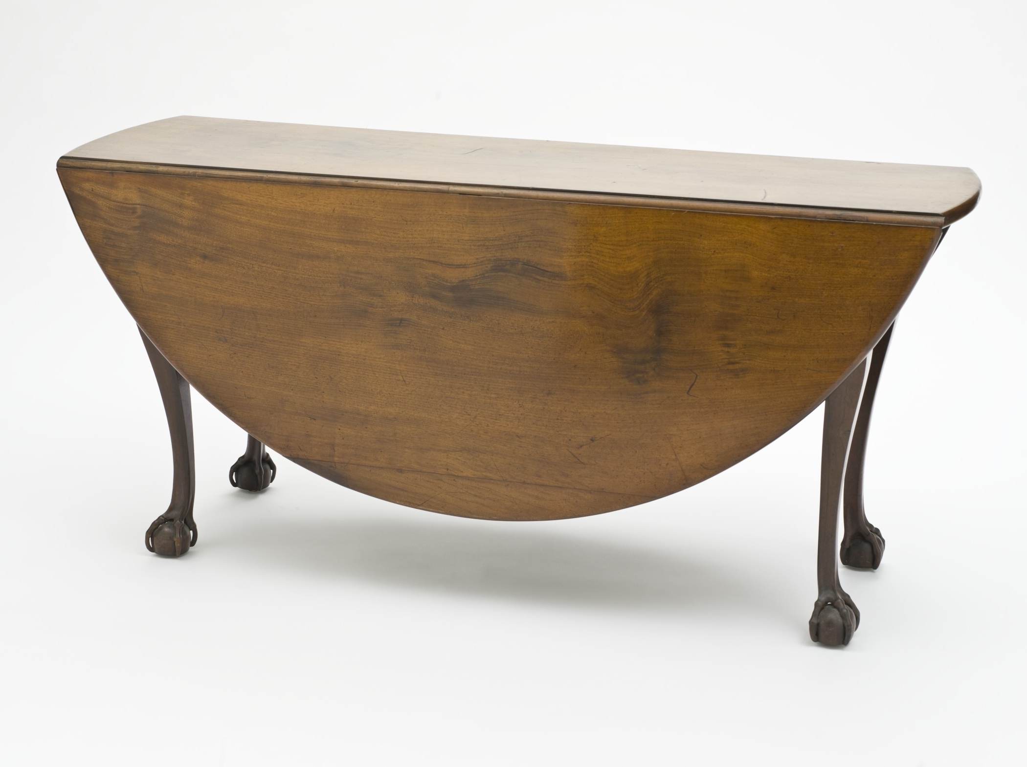 Most Recent Oval Folding Dining Tables Throughout Drop Leaf Table – Wikipedia (View 11 of 25)