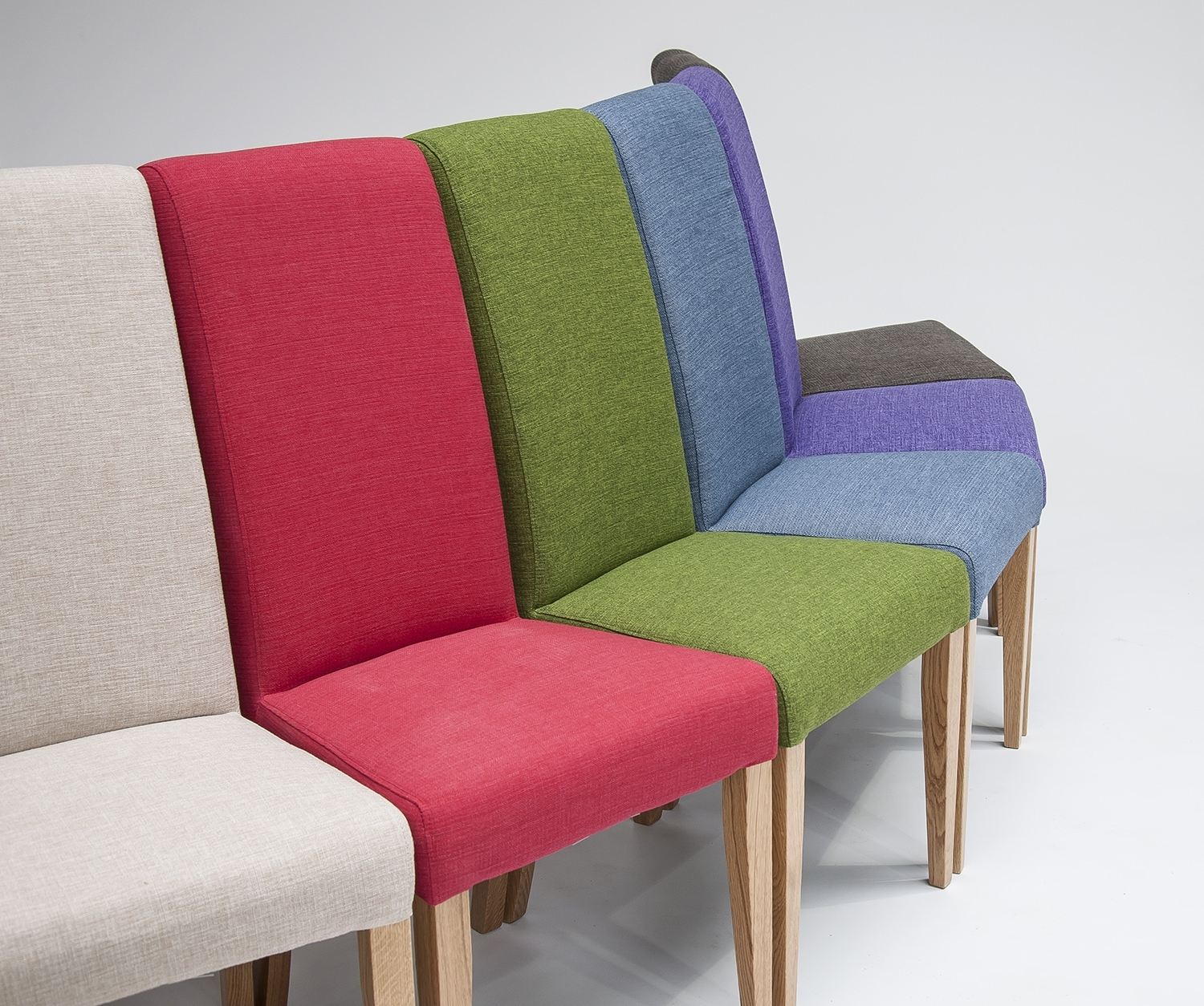 Most Recent Rolltop Dining Chairs : Teal Oak Fabric Rollback Chair X (View 13 of 25)