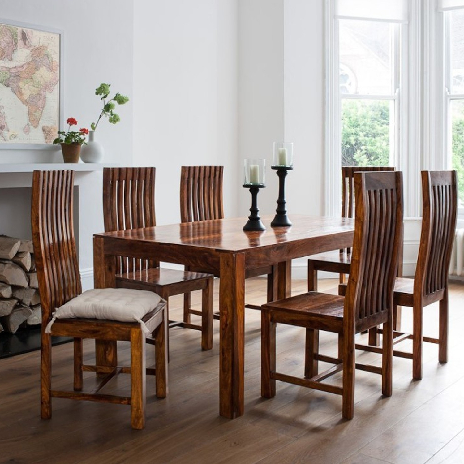 Most Recent Sheesham Dining Tables 8 Chairs Intended For Thar Art Gallery::sheesham Wood Dinning Table 6 Chairs,sheesham Wood (View 12 of 25)