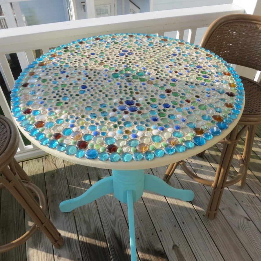 Most Recent Tile Top Outdoor Dining Set Patio Sets On Sale Mosaic Brand Outdoor In Mosaic Dining Tables For Sale (View 16 of 25)