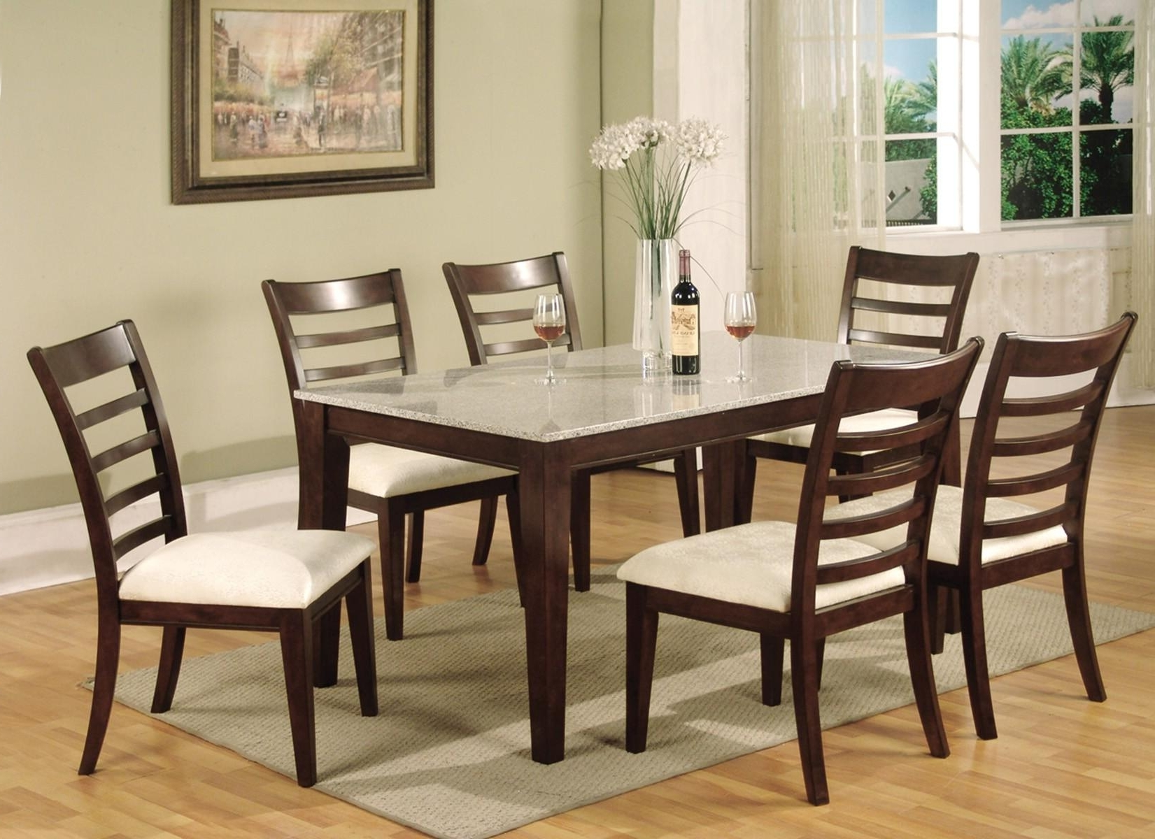 Most Recent Unique Dining Table Sets – Castrophotos Intended For Mallard 7 Piece Extension Dining Sets (Gallery 14 of 25)