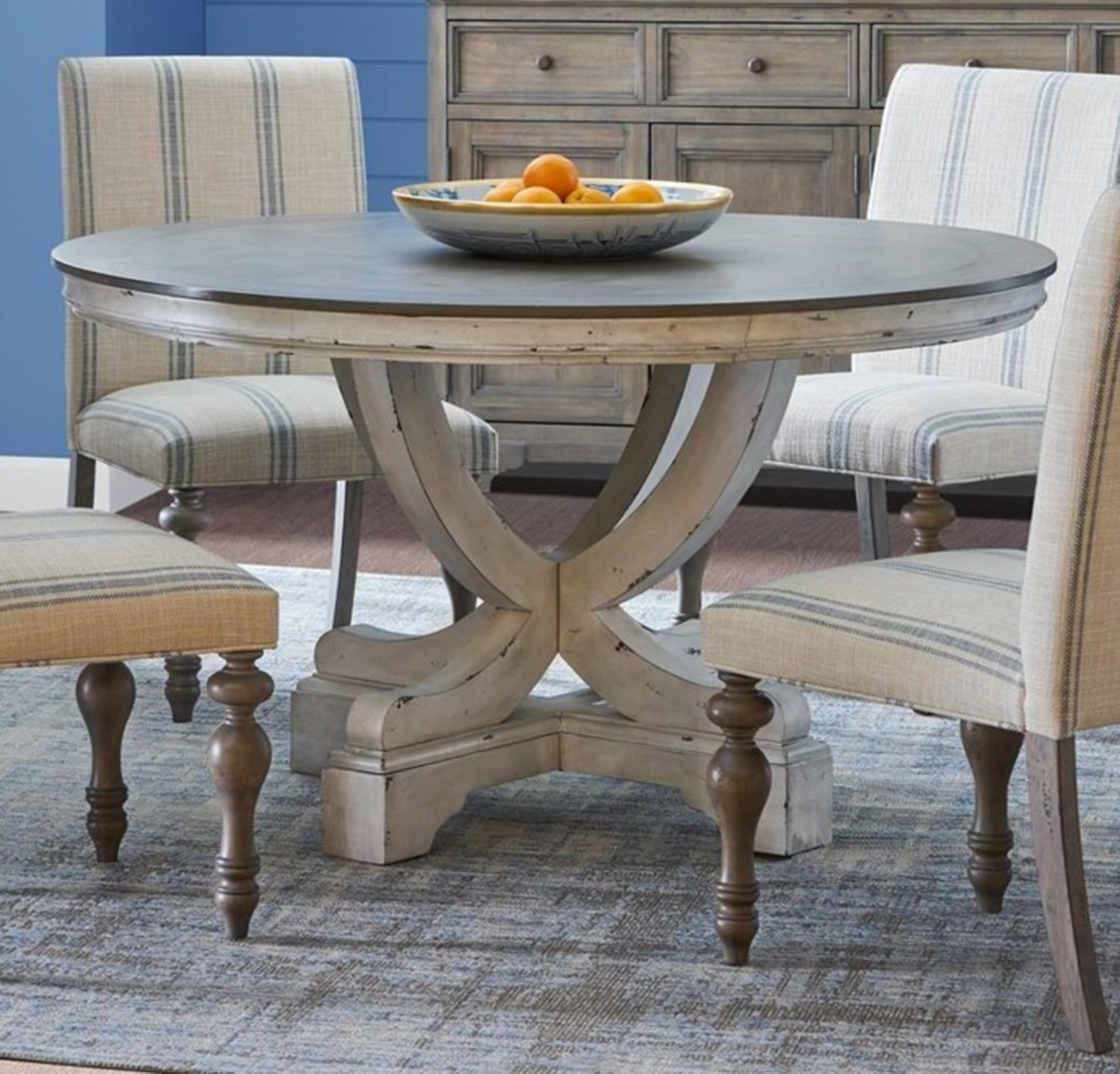 Most Recently Released 54 Round Dining Tables In Dining Rooms Outlet Inside Jaxon 5 Piece Extension Round Dining Sets With Wood Chairs (View 25 of 25)