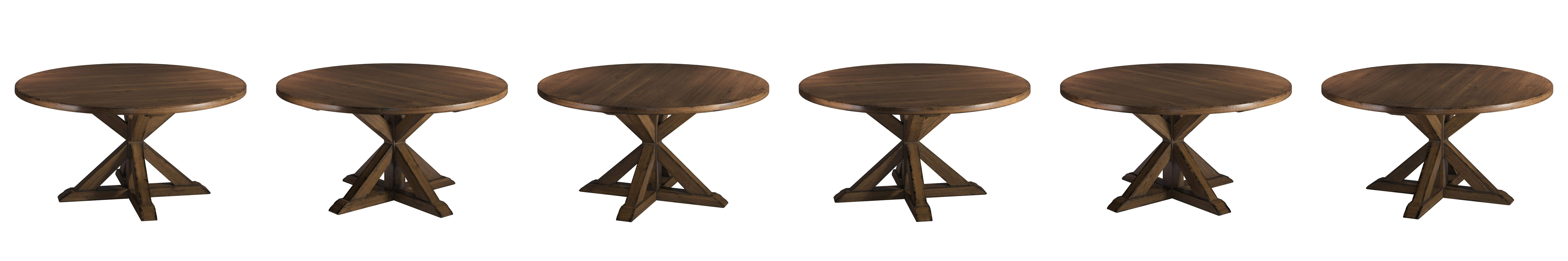 """Most Recently Released Amazon – South Cone Home Bayliss Round Dining Table, 72"""", Smoke Within Valencia 60 Inch Round Dining Tables (View 7 of 25)"""