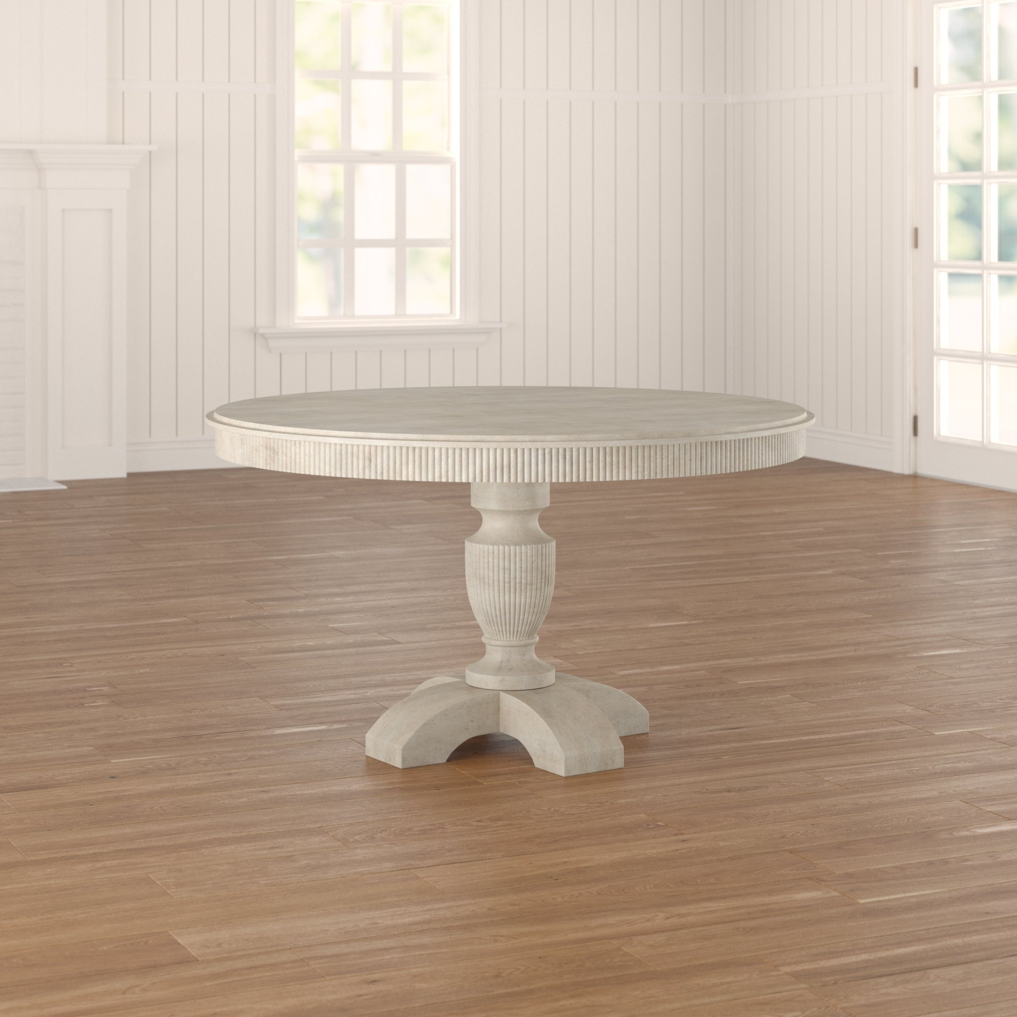 Most Recently Released August Grove Coursey Round Dining Table & Reviews (View 13 of 25)