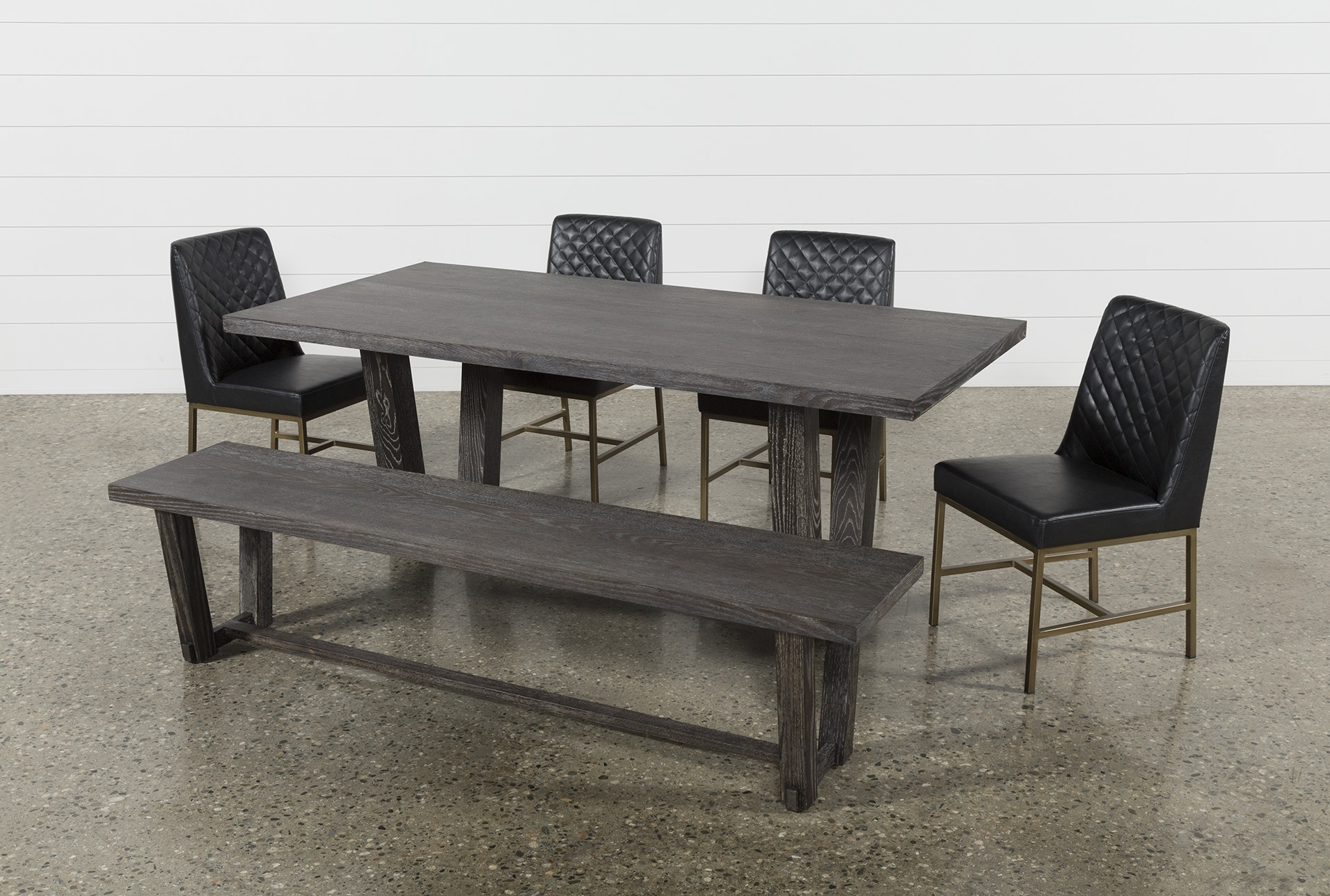 Featured Photo of Bale 6 Piece Dining Sets With Dom Side Chairs