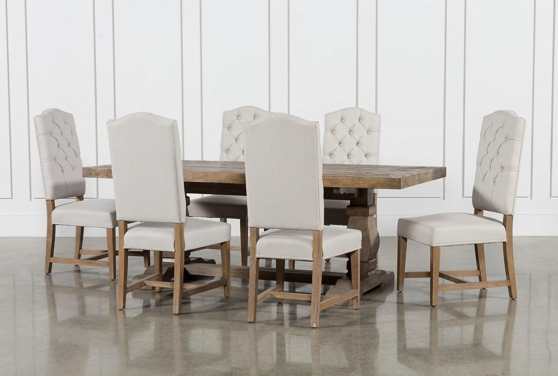 Most Recently Released Caden 7 Piece Dining Set With Kaitlyn Side Chairs (View 7 of 25)