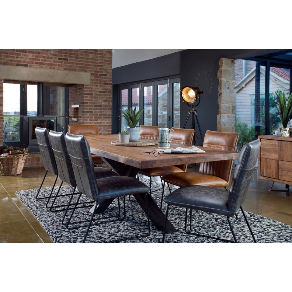 Most Recently Released Cooper Dining Tables Intended For Broadway 200Cm Dining Table + 6 Cooper Dining Chairs (View 19 of 25)